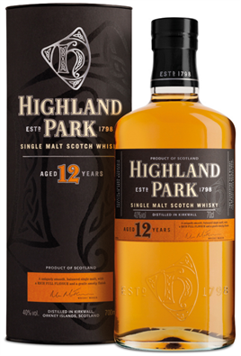 Highland Park Scotch Single Malt 12 Year 86@
